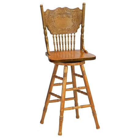 Tremendous A Line Furniture Larkin Windsor Country Style Swivel Bar Machost Co Dining Chair Design Ideas Machostcouk