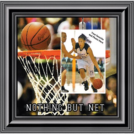 Basketball Personalized Picture frame, Gifts for Coaches Basketball, 10X10 9712 ()