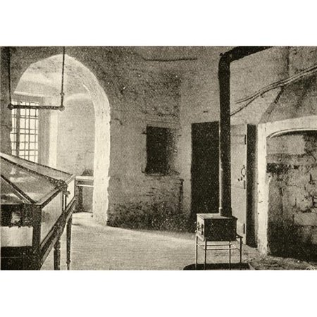 Posterazzi DPI1857425 Room in The Tower of London in Which Princess Elizabeth Was Imprisoned Poster Print, 17 x 12 - image 1 of 1