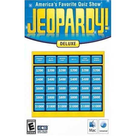 Jeopardy! Deluxe Edition for Mac OS X (Best Mac Os X Games)