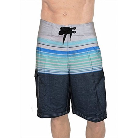 Banana Boat Men's Boardshorts UPF 50+ Fabric Is Made To Block 99% Of The UVA Rays. Size Runs Small, Order Up a Size. (X-Large, Aqua 2-Tone 507) - Halloween Contact Lenses Blue Banana