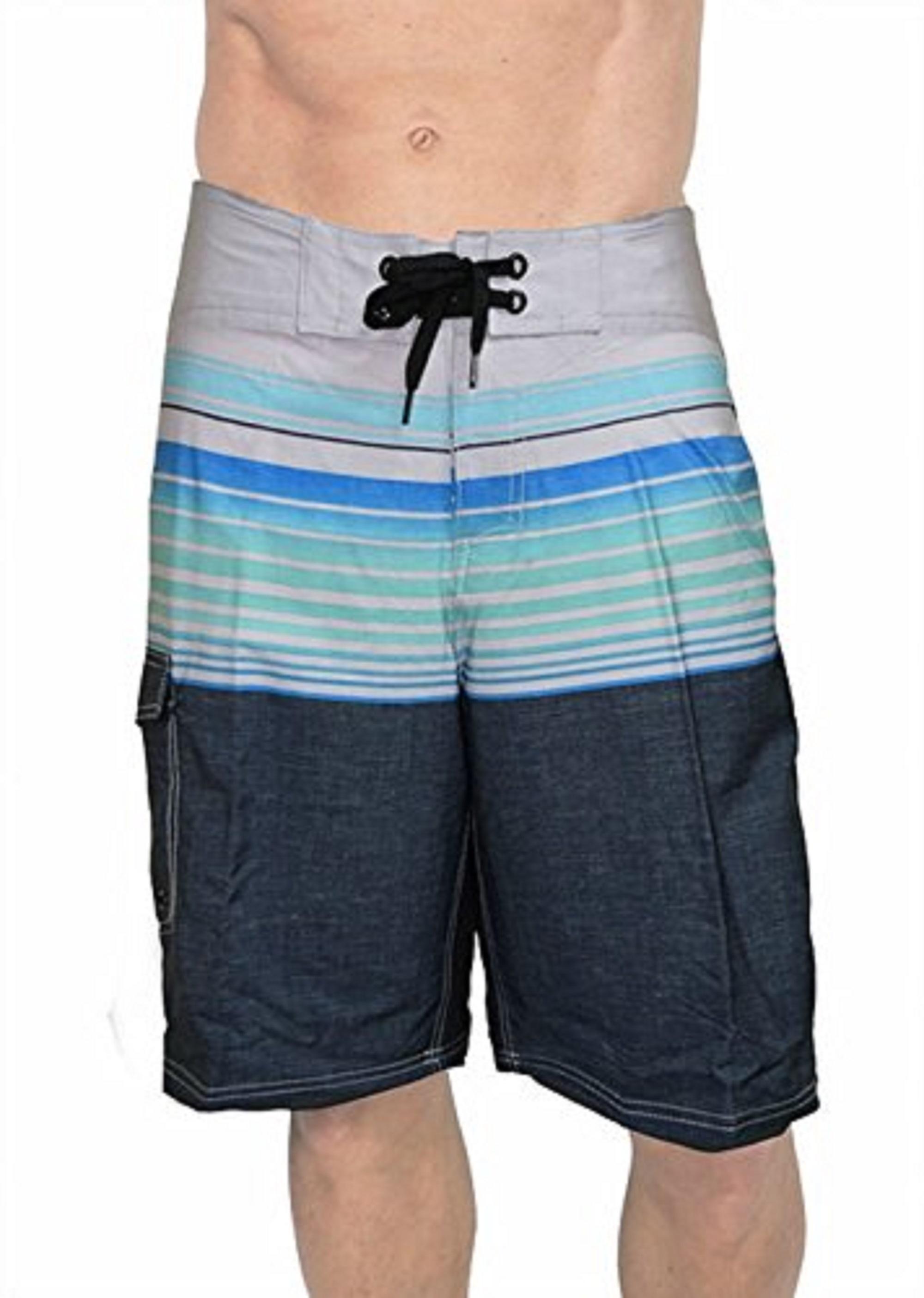 Banana Boat Men's Boardshorts UPF 50+ Fabric Is Made To Block 99% Of The UVA Rays. Size Runs Small, Order Up a Size. (X-Large, Aqua 2-Tone 507)