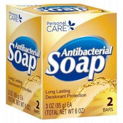 Personal Care Antibacterial Soap – 3oz – 2 Pack