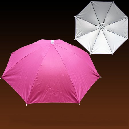 Outtop Foldable Novelty Umbrella Sun Hat Golf Fishing Camping Fancy Dress Multicolor
