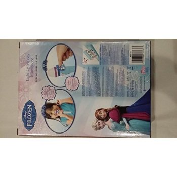 disney frozen light up music melody microphone do you want to build a snowman with stickers - Microphone Flag Stickers