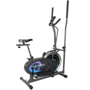 Body Rider BRD2800 Deluxe Flywheel Elliptical Dual Trainer with Seat