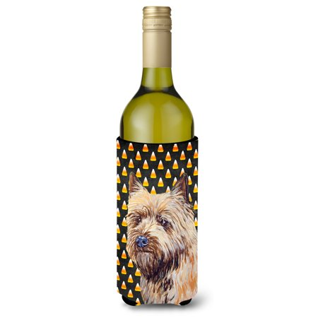 Cairn Terrier Candy Corn Halloween Portrait Ultra Beverage Insulators for slim cans LH9061MUK