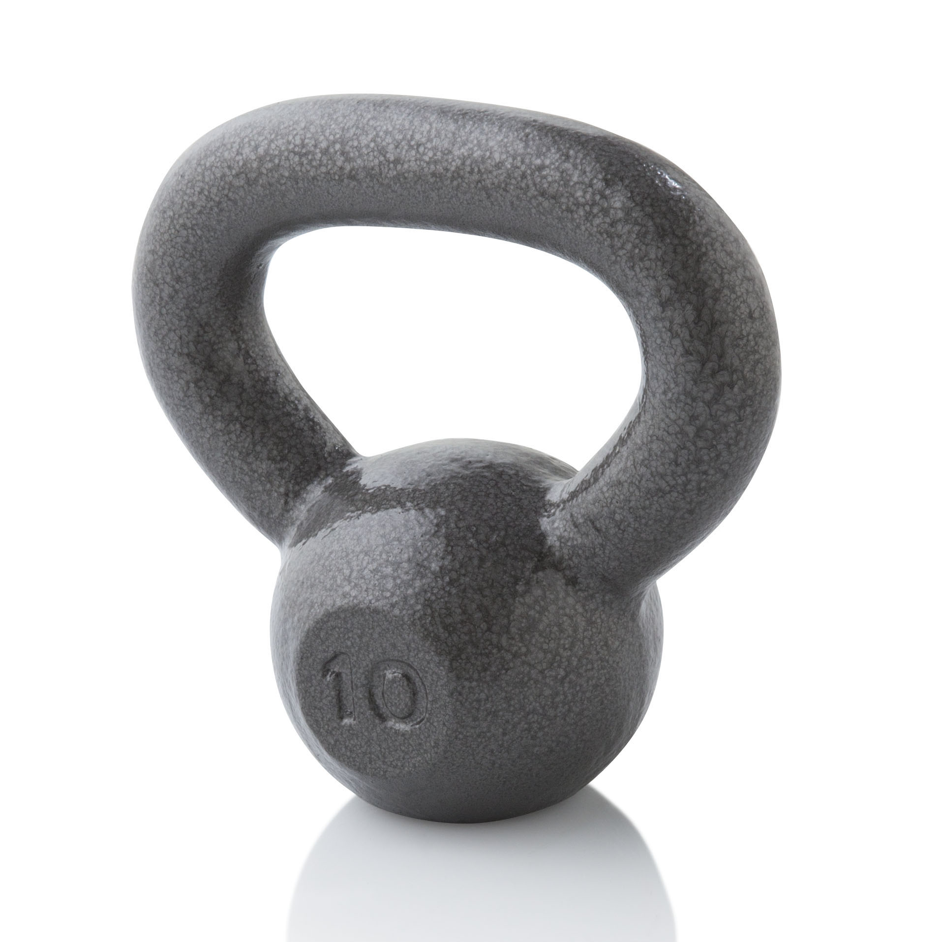 Gold's Gym Cast Iron Kettlebell, 10-35lbs
