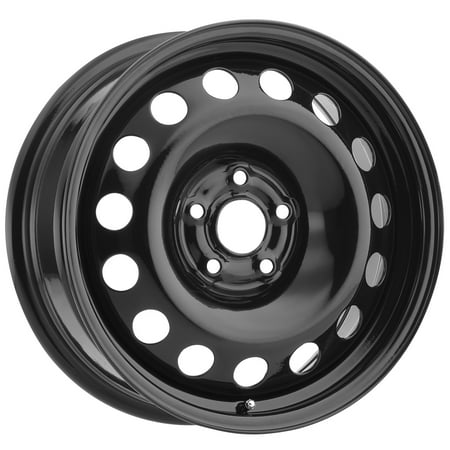 Vision SW60 Steel Mod 14x5.5 4x100 +38mm Black Wheel Rim 14