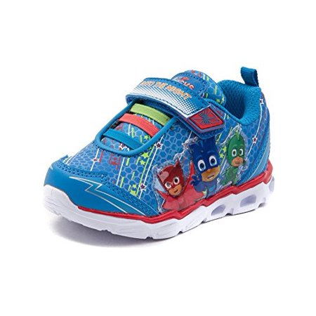 PJ Masks Boys Light Up Sneakers (6) - Pj Shoe Store