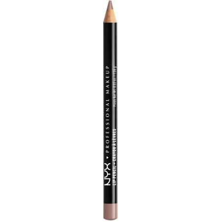2 Pack - NYX Professional Makeup Slim Lip Liner Pencil, [809] Mahogany 1 ea