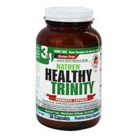 Natren Healthy Trinity Dairy Free Probiotic Capsules, 30 Ea