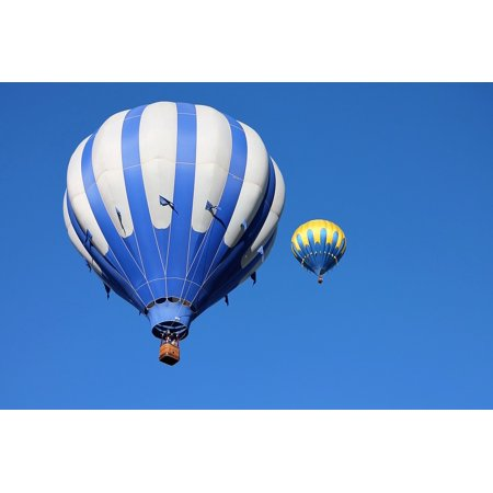 Canvas Print Albuquerque Balloon Fiesta Balloons Hot Air Balloon Stretched Canvas 10 x - Hot Air Balloon Pins For Sale