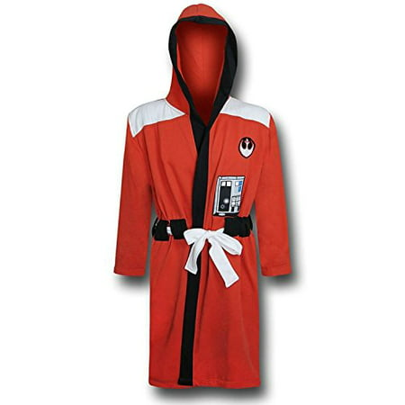 Star Wars Rebel Alliance Adult Sized Costume Bath Robe (L/XL)](Star Wars Rebel Pilot Costume)