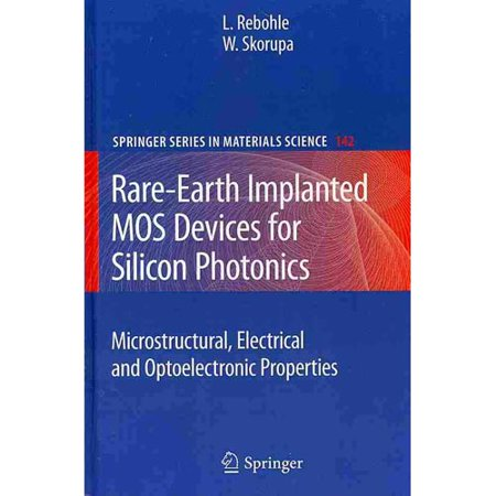 Rare Earth Implanted Mos Devices For Silicon Photonics  Microstructural  Electirical And Optoelectronic Properties
