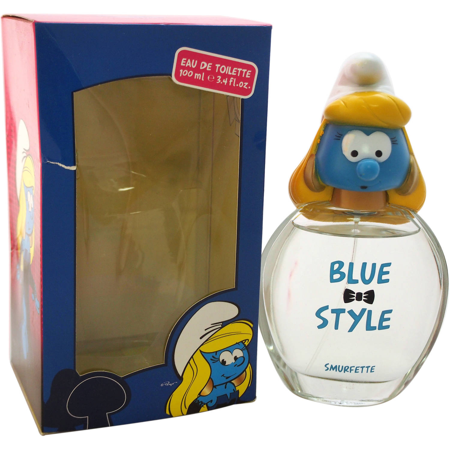 First American Brands The Smurfs Blue Style Smurfette Fragrance for Kids, 3.4 fl oz