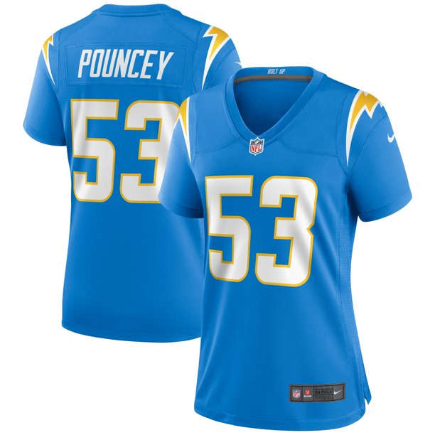 Mike Pouncey Los Angeles Chargers Nike Women's Game Jersey - Powder Blue