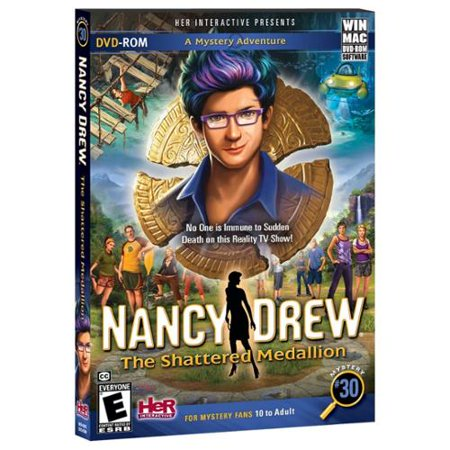 Nancy Drew: The Shattered Medallion Multiple (Windows and Mac): select platform by
