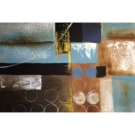 (BD-Import Art Hand-Painted Abstract #4 Canvas Oil Painting)