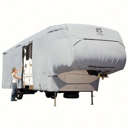 00 Permapro Cover (Classic Accessories OverDrive PermaPRO Deluxe 5th Wheel Cover, Fits 20' - 44' RVs )