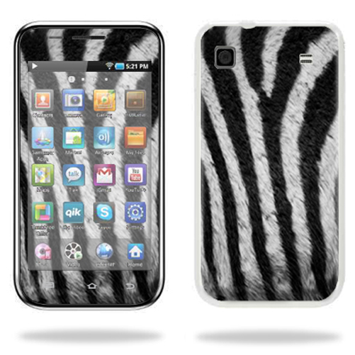 Mightyskins Protective Vinyl Skin Decal Cover for Samsung Galaxy Player 4.0 MP3 Player wrap sticker skins Zebra