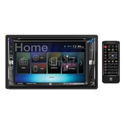 """Dual AV Double Din 6.2"""" Touch Screen DVD BT 2.1A USB remote HDMI Android 2-Way"""