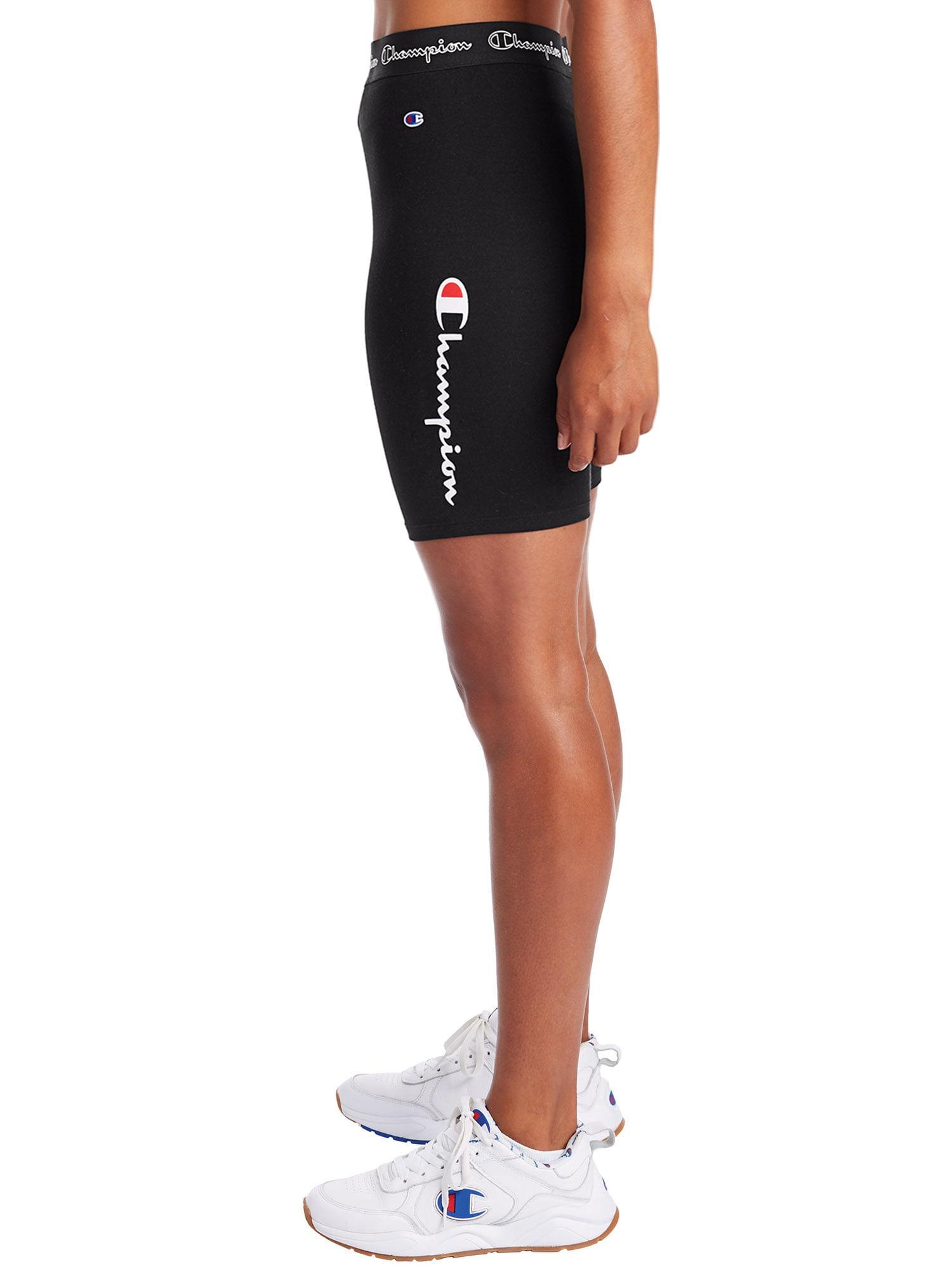 Champion Womens Authentic Bike Short Yoga Pants