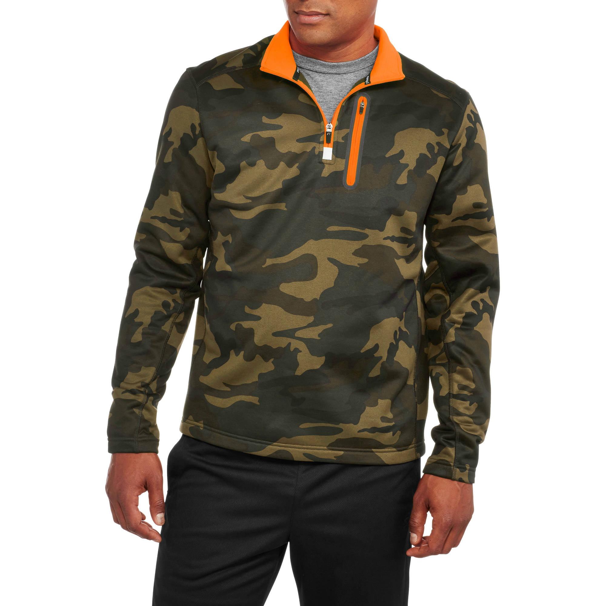 Russell Men's 1/4 Zip Polytech Jacket