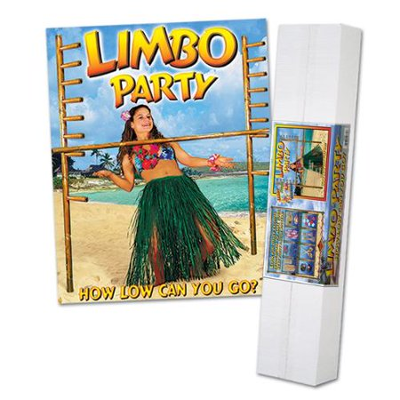 How Low Can You Go Luau Limbo Party Kit with Limbo Music CD 6' for $<!---->