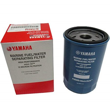 oem yamaha mini-10 10-micron fuel/water separating filter only (Yamaha Fuel Filter Mar Fuelf Il Tr)