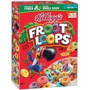 Kellogg's Froot Loops Breakfast Cereal, Fruit Flavored, 8.7 Oz
