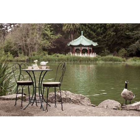 Dream Cache - Dream Cafe Stow Lake - 47 Poster Print by Alan Blaustein