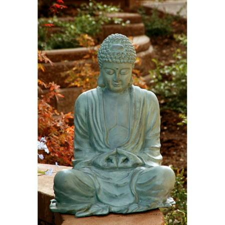 Large Garden Buddha Garden Statue ()