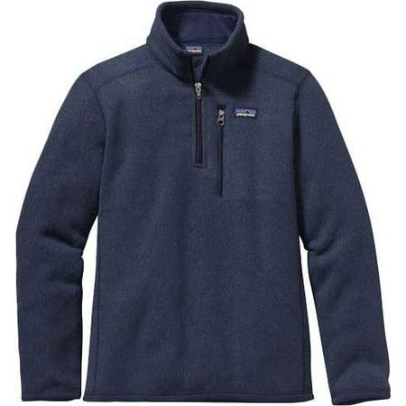 patagonia boys' quarter-zip fleece better sweater (Patagonia Mens Better Sweater 1 4 Zip Sale)