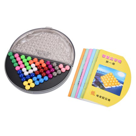 Qiilu Kids Educational Puzzle Set Parent-Child Intelligent Logic Beads Building Challenge Game Toys, Plastic Puzzle Set, Kids Puzzle Toy - image 9 de 13