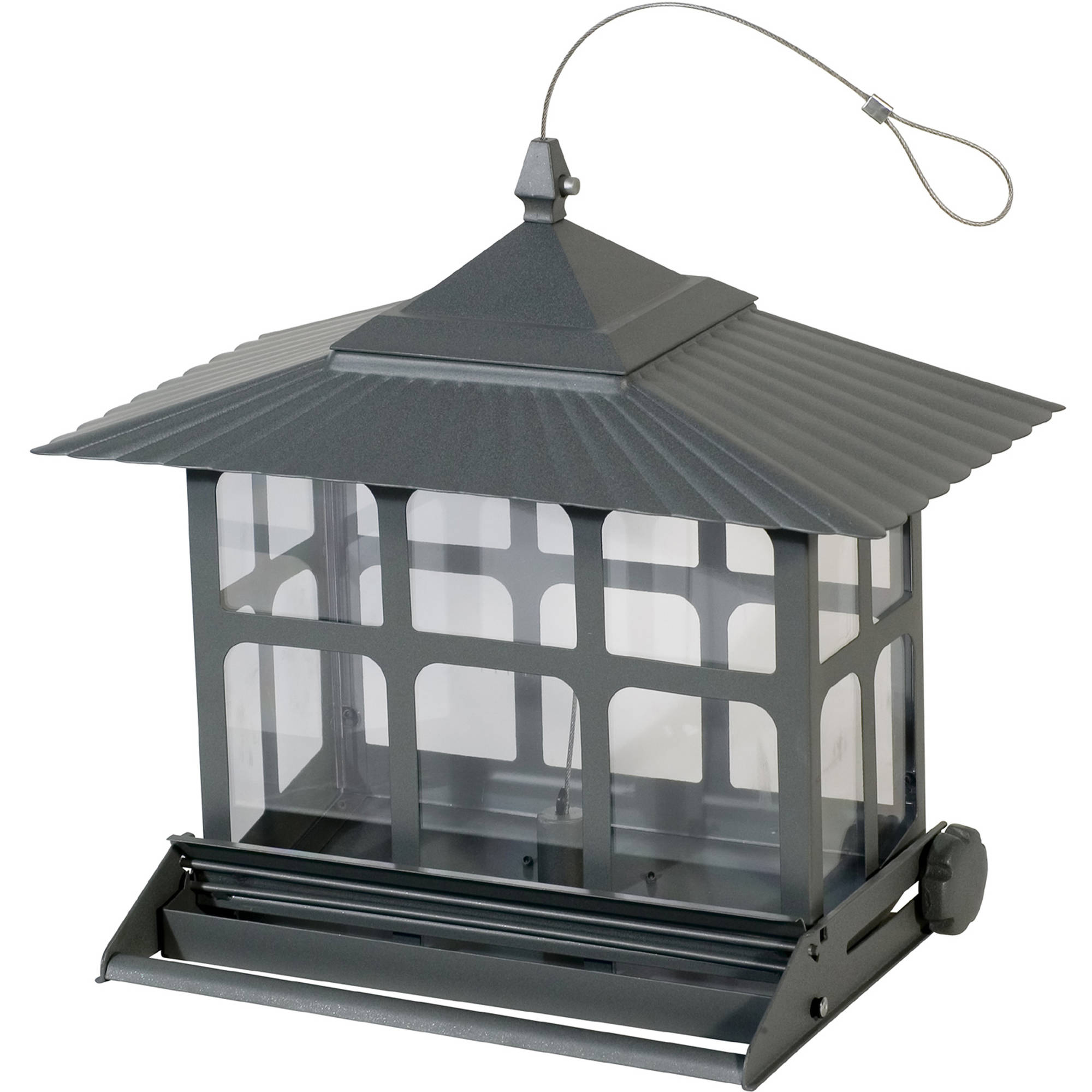 Perky-Pet 12 lb Squirrel-Be-Gone II Wild Bird Feeder