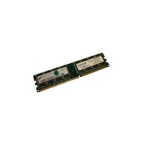 - Refurbished-CrucialCT6464Z40B.8TD2512MB, 184 pin DDR400, PC3200, CL3. Crucial CT6464Z40B.8TD2