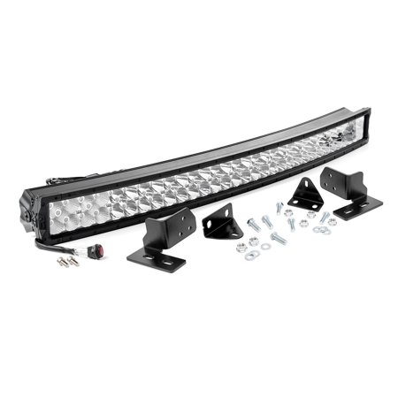 Rough Country - 70683 - 40-inch X5 Series Dual Row CREE LED Light Bar & Hidden Bumper Mounts Kit for Ford: 11-16 F250 Super Duty 4WD/2WD 06 Super Duty Rough
