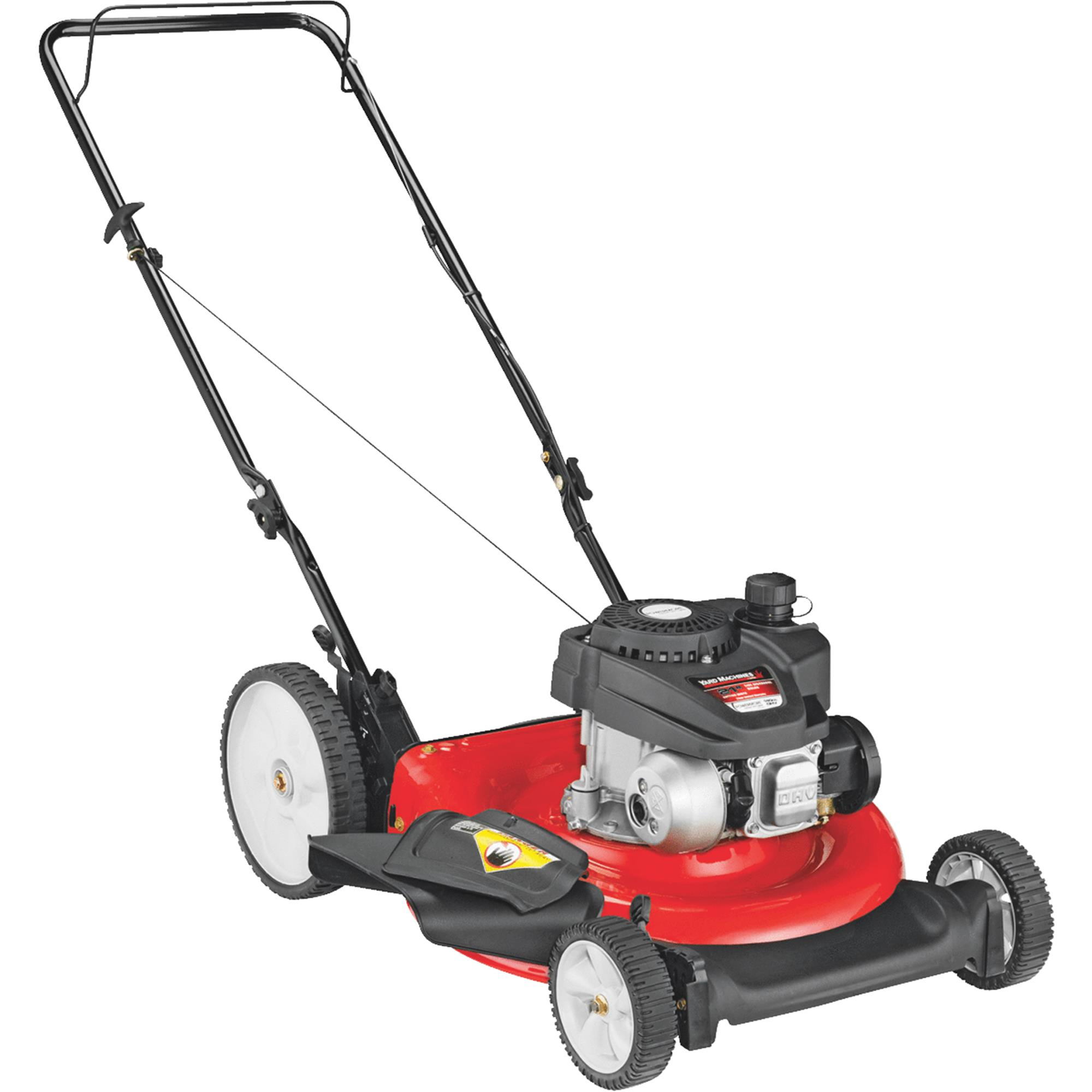 Yard Machines 21 In. High Wheel Push Gas Lawn Mower