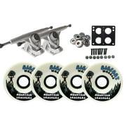 Randal 180mm LONGBOARD TRUCKS 76mm 83a CRUSHER Wheels