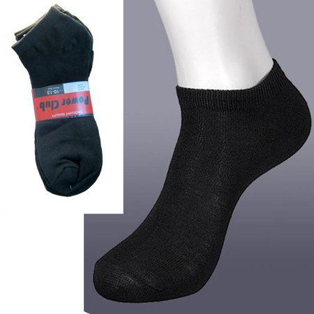 3 Pairs Ankle Socks Mens Womend Low Cut Crew Sport Spandex Peds Size 10-13