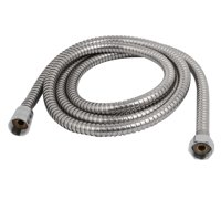 """20mm F1/2"""" G1/2"""" Thread 2M Long Stainless Steel Handheld Shower Hose Pipe"""