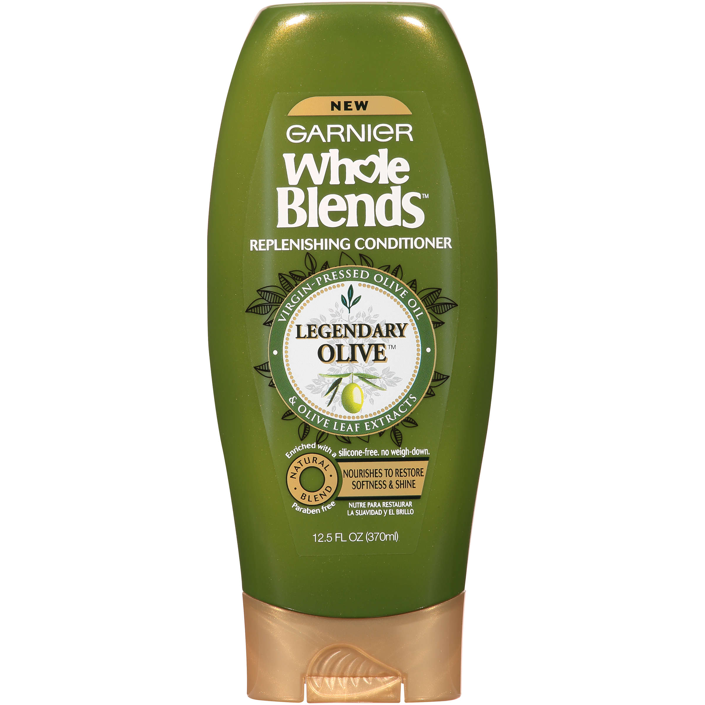 Garnier Whole Blends Replenishing Conditioner, 12.5 Fl Oz
