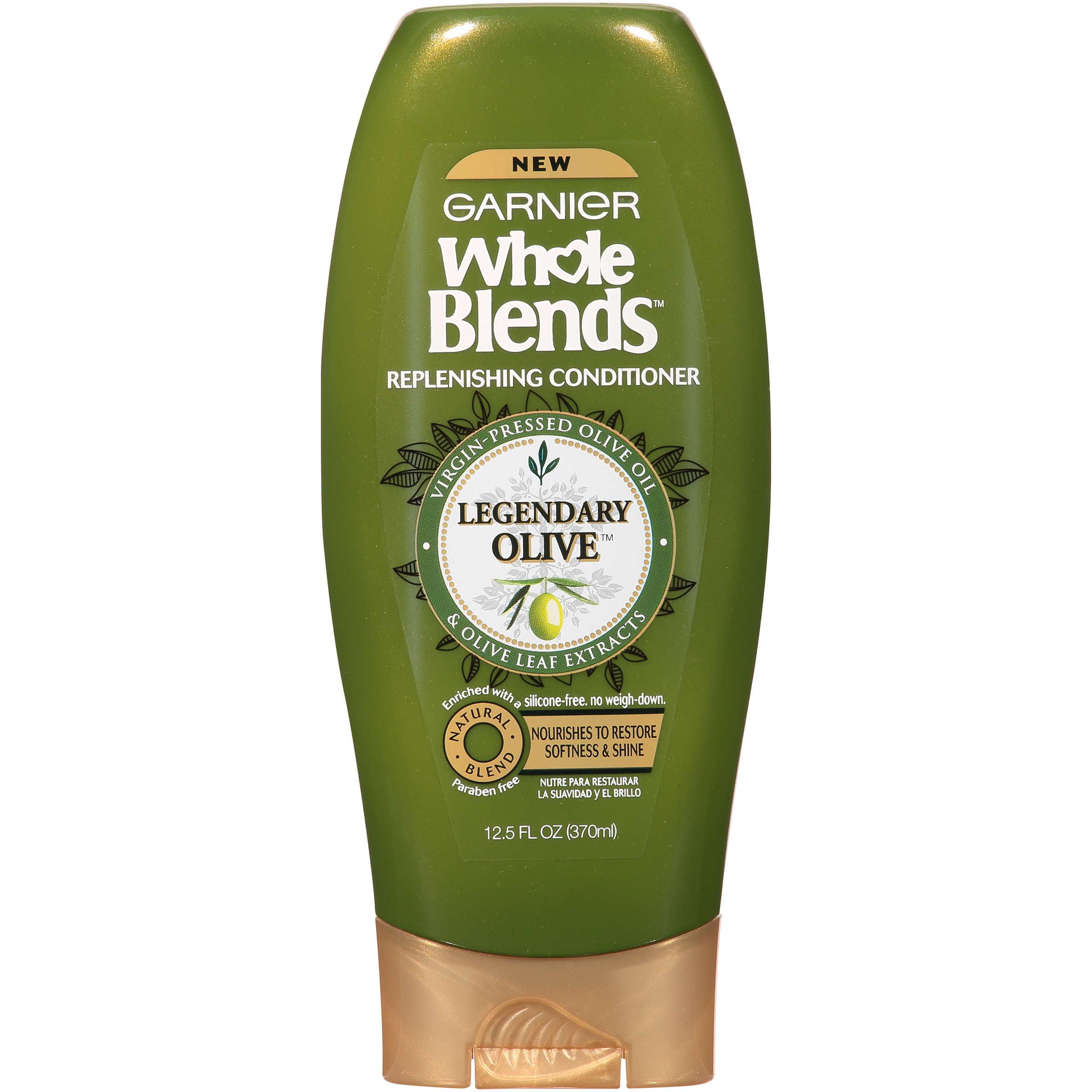 Garnier Whole Blends Replenishing Conditioner, 12.5 Fl Oz