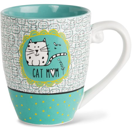 Its Cats   Dogs   Cat Mom High Quality Cermaic Extra Large Coffee Mug Tea Cup 20 Oz