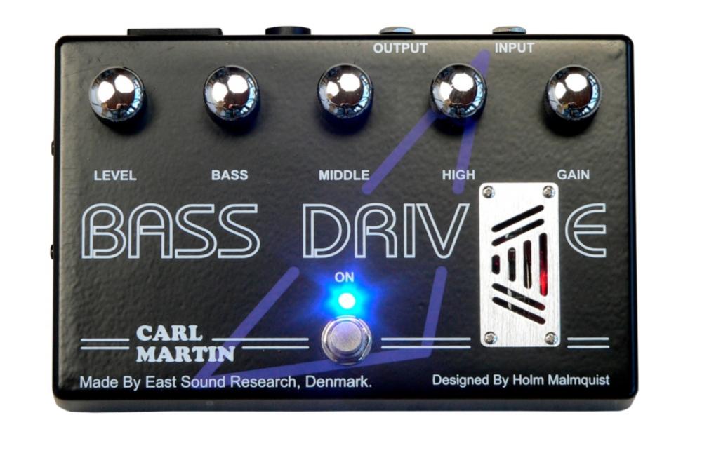 Carl Martin Bass Drive Tube Pre Amp Bass Effects Pedal by Carl Martin