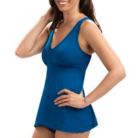 Dolfin Aquashape Women's Flyaway Tankini Top Swimsuit in Multiple Colors and Sizes