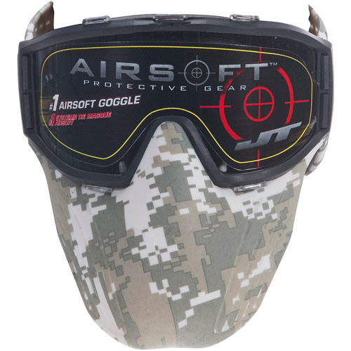 JT Airsoft Mask, Digital Camo