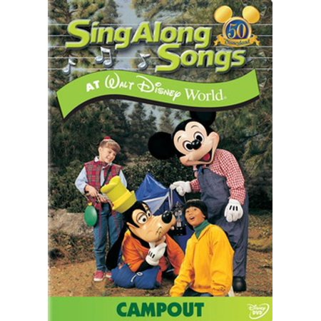 Sing Along Songs at Walt Disney World: Campout (DVD)](Disney Halloween Song Boo To You)