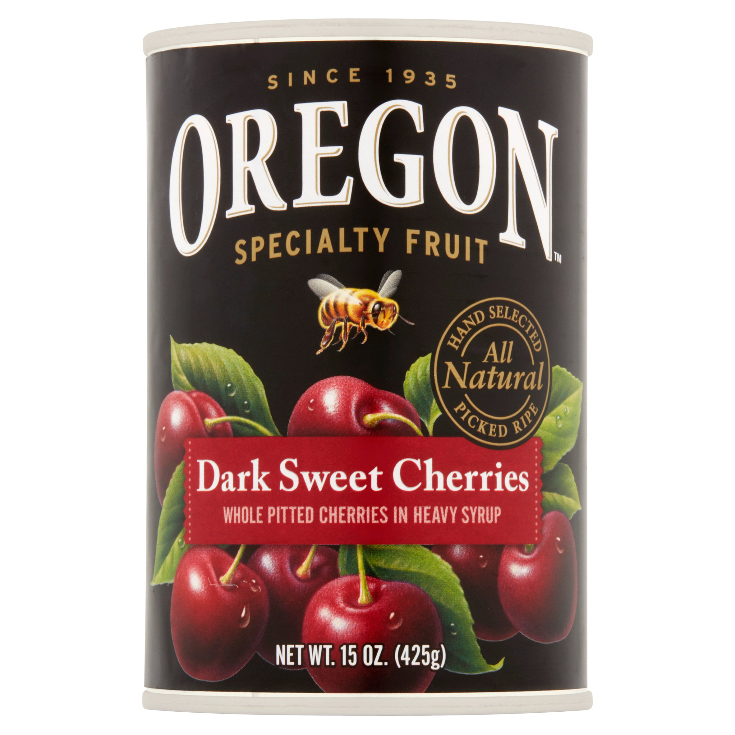 Oregon Specialty Fruit Dark Sweet Cherries, 15 oz by Oregon Fruit Products LLC